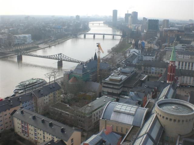 historisches museum frankfurt: Blick von oben