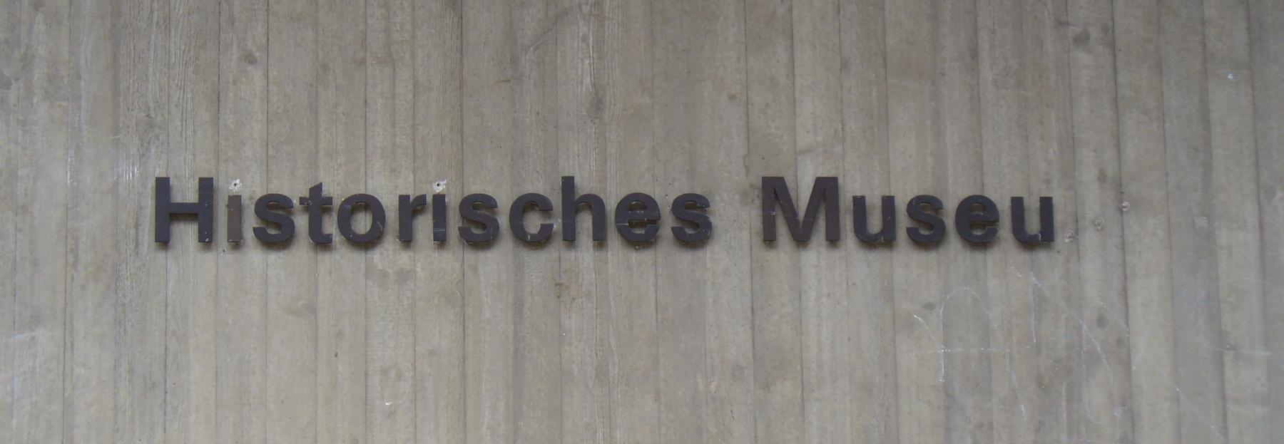 Ausschnitt der Westfassade, historisches museum frankfurt, 16.03.2011