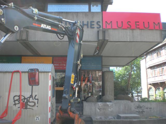 historisches museum frankfurt Abriss Stand 12-07-11