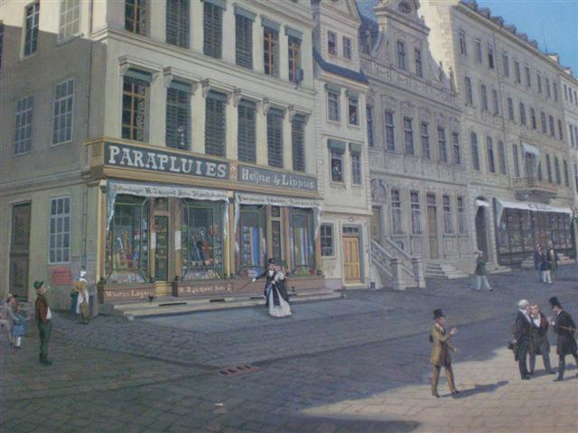 historisches museum frankfurt, Zeilpanorama von Karl Sager