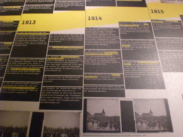historisches museum frankfurt:  hier&dort Ausstellung Basel