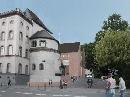 historisches museum frankfurt: Visualisierung Lederer Ragnasdottir Oei