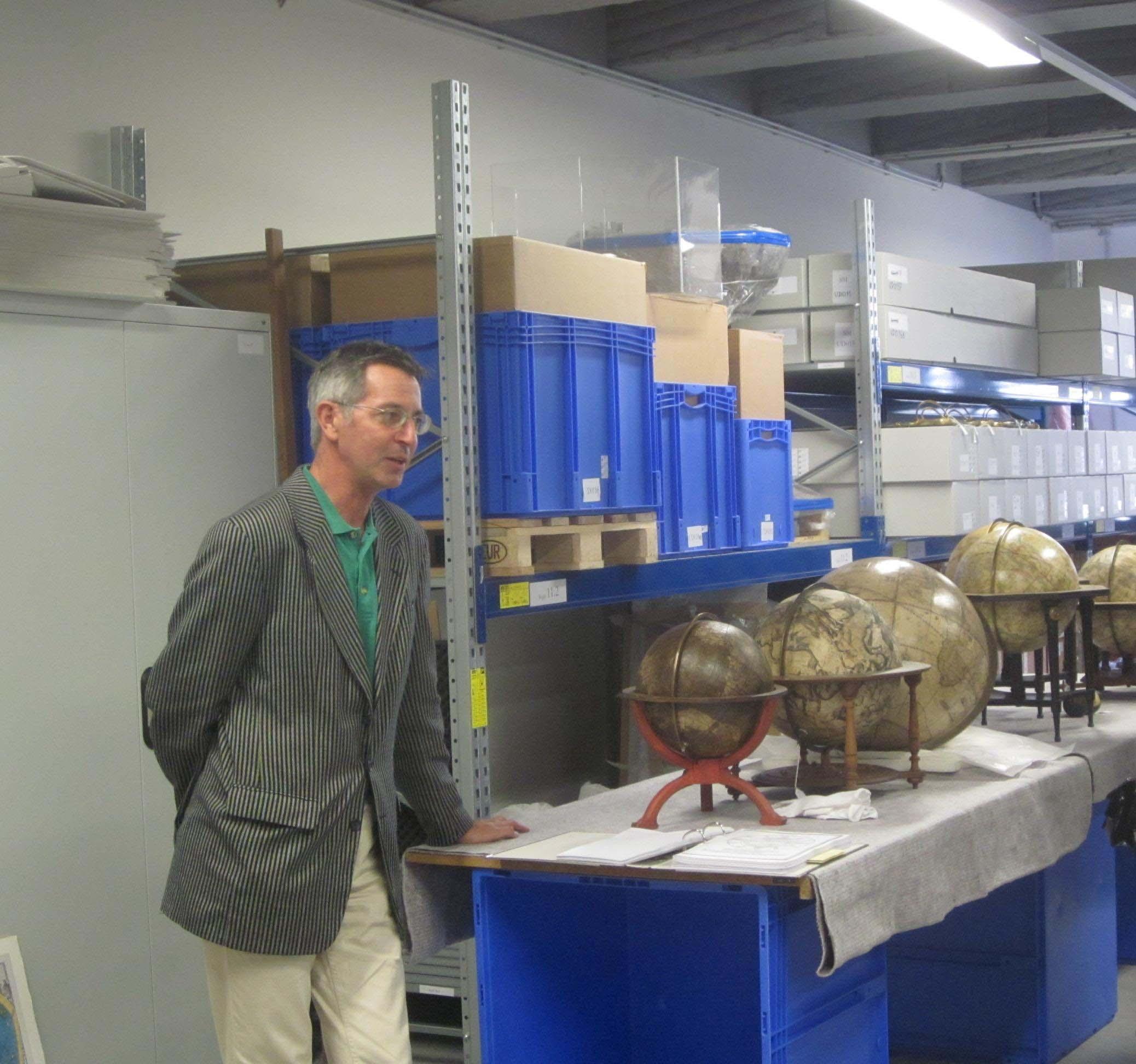 historisches museum frankfurt: schöner globus