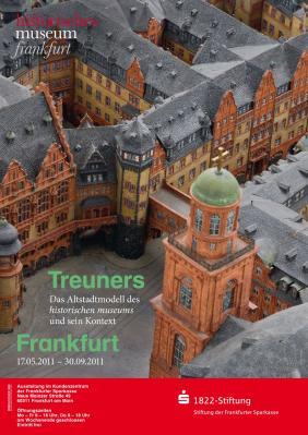 historisches museum frankfurt  Ausstellungsplakat der Treuner-Ausstellung 2011
