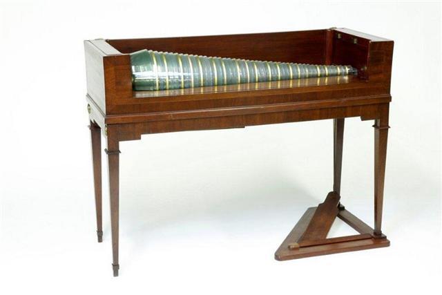 historisches museum frankfurt: Glasharmonika,  (c) hmf, Foto: U. Dettmar