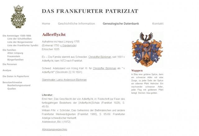 historisches museum frankfurt: screenshot Das Frankfurter Patriziat