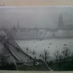 historisches museum frankfurt: Blick auf den Eisernen Steg