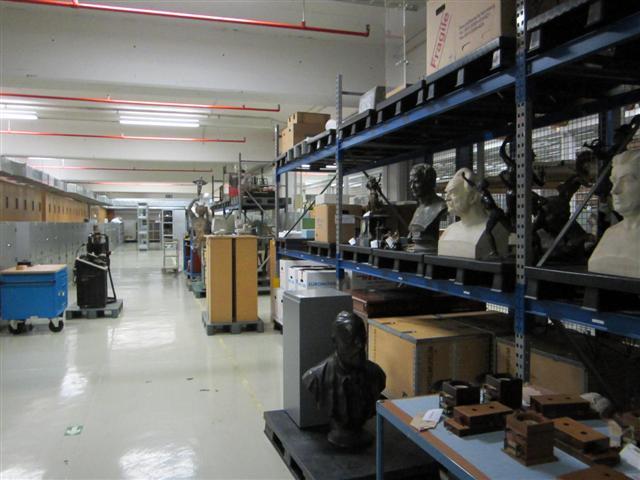 historisches museum frankfurt: im Depot des Museums für Kommunikation, Frankfurt
