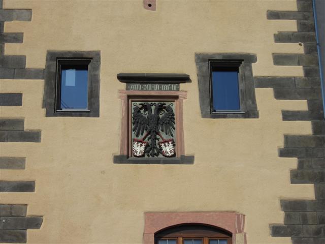 historisches museum frankfurt: Adler im Rententurm