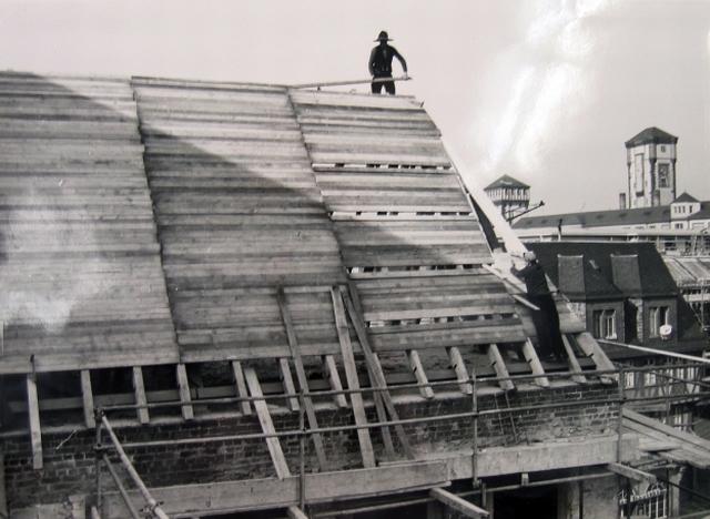 historisches museum frankfurt: wiederaufbau 1955