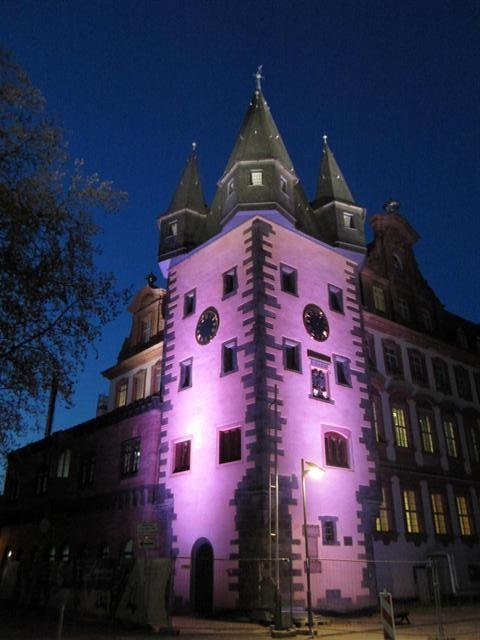 historisches museum frankfurt: Rententurm an der Luminale 2012