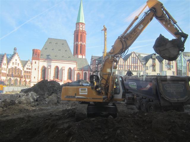 historisches museum frankfurt: es wird gebaut!