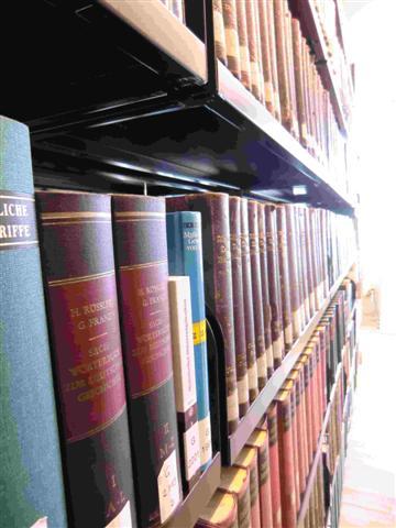 historisches museum frankfurt: die neue Bibliothek