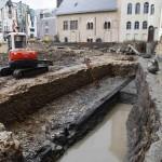 Baustelle Stauferhafen 2012 (c) historisches museum frankfurt, Foto: U. Dettmar