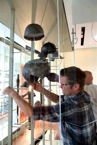 historisches museum frankfurt: Sammlung Fellner im Aufbau