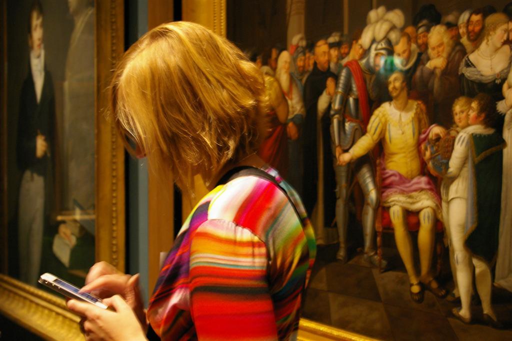 Kunsteindrücke in der Sammlung Dahlberg (c) historisches museum frankfurt
