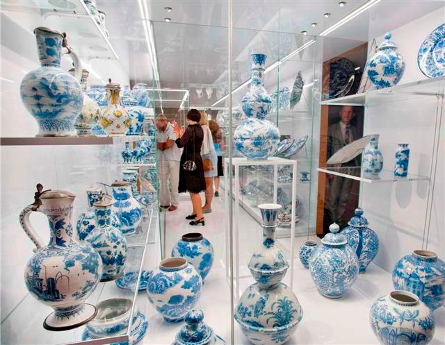 historisches museum frankfurt: Eröffnung des Sammlermuseums 2012 - die Sammlung Kratz, Foto P. Welzel