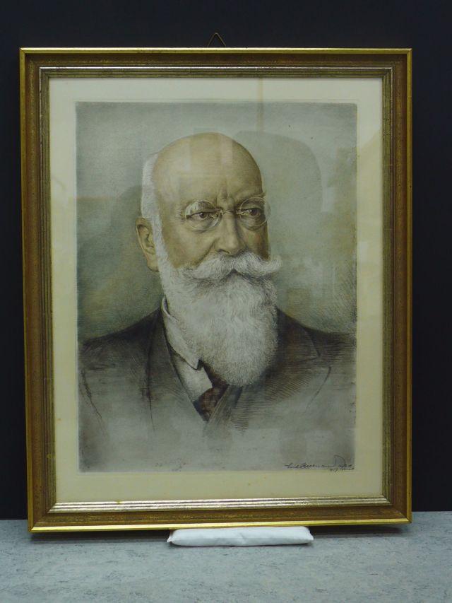 historisches museum frankfurt Adolf Haeuser eingerahmt