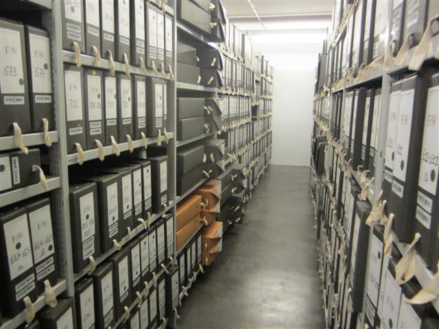 historisches museum frankfurt: schon eingeräumt
