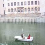 historisches museum frankfurt: Bootsfahrt mit Direktor
