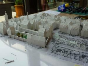 historisches museum frankfurt:  Merianplan von Norden