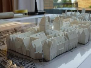 historisches museum frankfurt: Merianplan von Süden