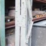 historisches museum frankfurt: der Pfeiler im Depot