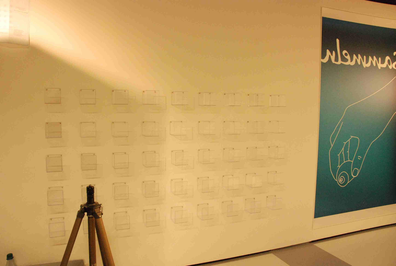 kinder museum frankfurt:  Sammelfieber – leere Vitrinen