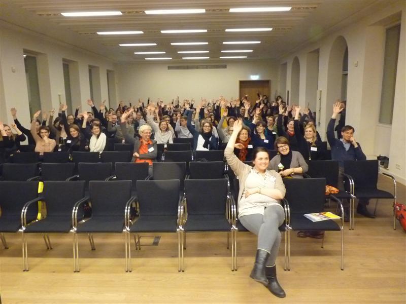 historisches museum frankfurt: Gewählt wird auf der Bundesvolontärstagung auch: Die neuen Sprecher der VolontärInnen im Deutschen Museumsbund – Herzlichen Glückwunsch! (c) BVT 2013
