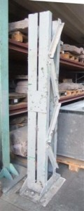 historisches museum frankfurt: pfeiler aus Zeppelinhalle? im Depot