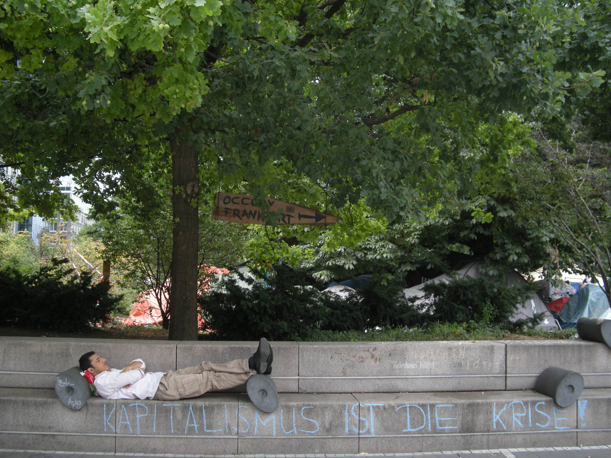 historisches museum frankfurt: Occupy Foto: B. Walzer