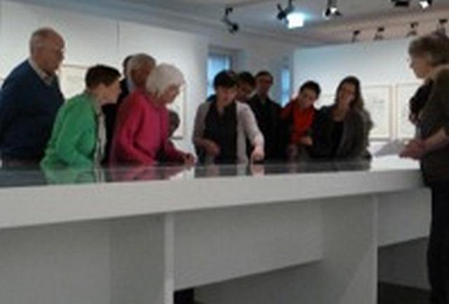 historisches museum frankfurt: mit den freunden & förderern in der Trumpetas-Ausstellung