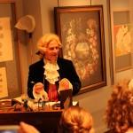 historisches museum frankfurt: Gerning erklärt die Mühe seiner Arbeit