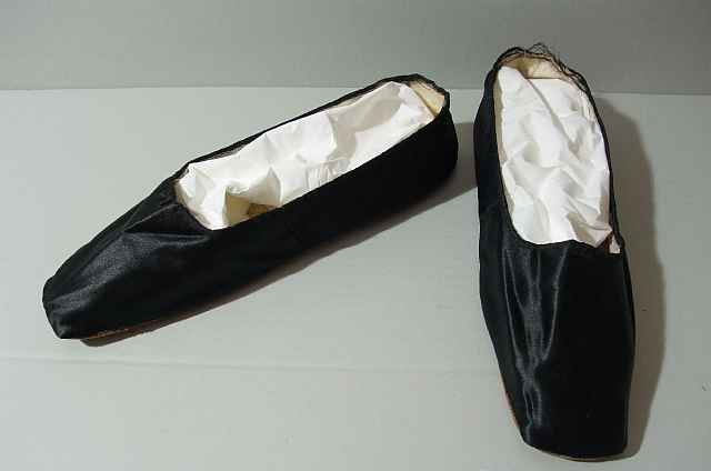 historisches museum frankfurt: Schuhe von Auguste Feist-Belmont, um 1840