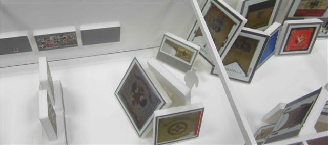historisches museum frankfurt: Die Fahnengalerie von Frankfurt Einst? im Modell