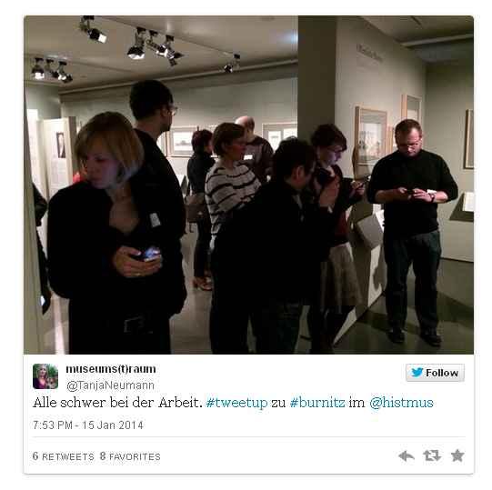 historisches museum frankfurt: der Burnitz-tweetup