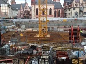 historisches museum frankfurt: das neue Ausstellungshaus entsteht