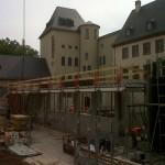 historisches-museum-frankfurt_blick-in-Baugrube_museumsplatz von Norden