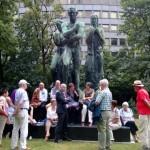 historisches museum frankfurt: die freunde & förderer im stadtlabor unterwegs Wallanlagen