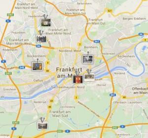 historishes museum frankfurt: stadtmodell mit historypin