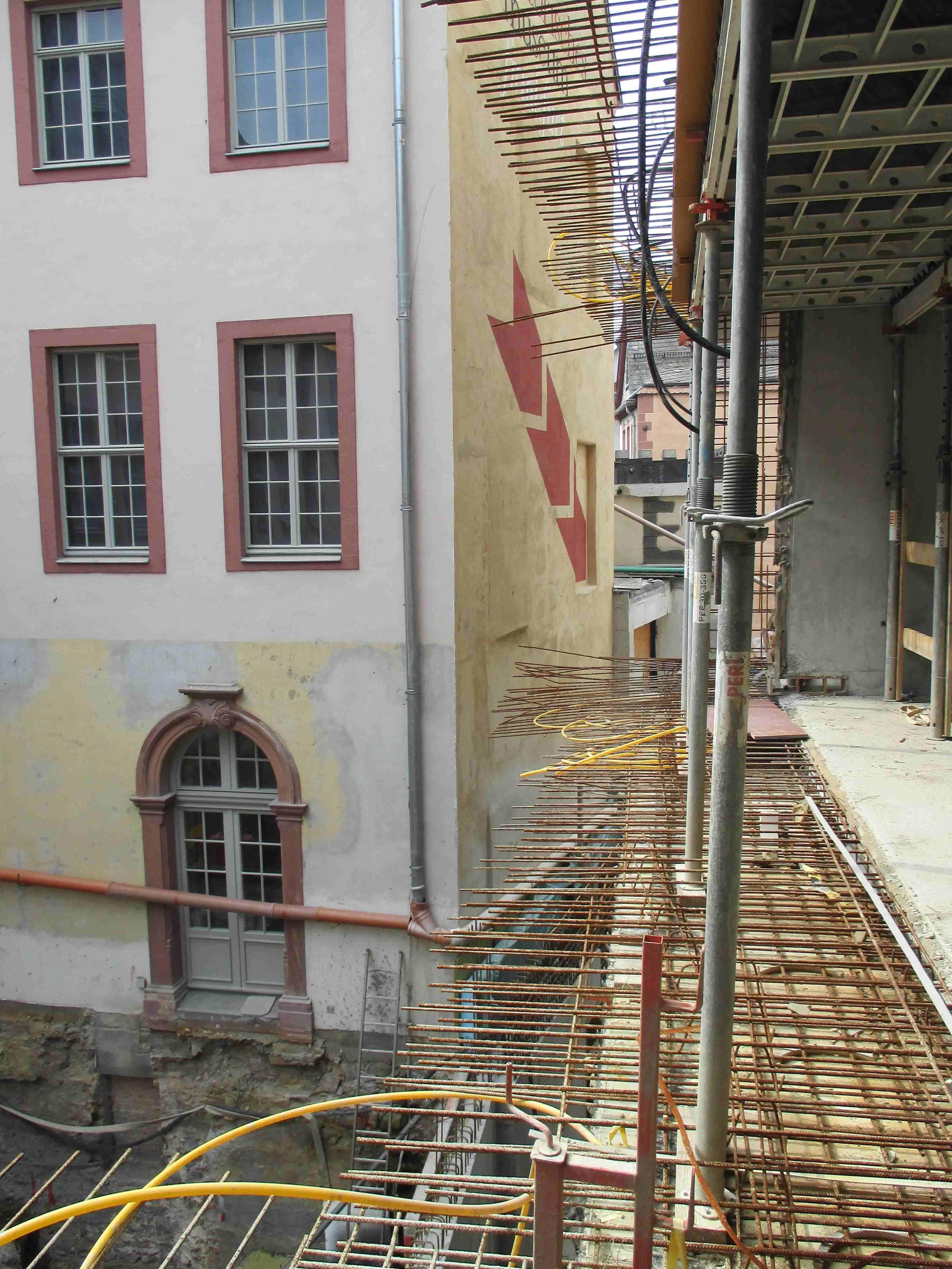 historisches museum frankfurt: Anschluss an den Saalhof