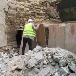 historisches-museum-frankfurt_ Fund-karolingische-Mauer