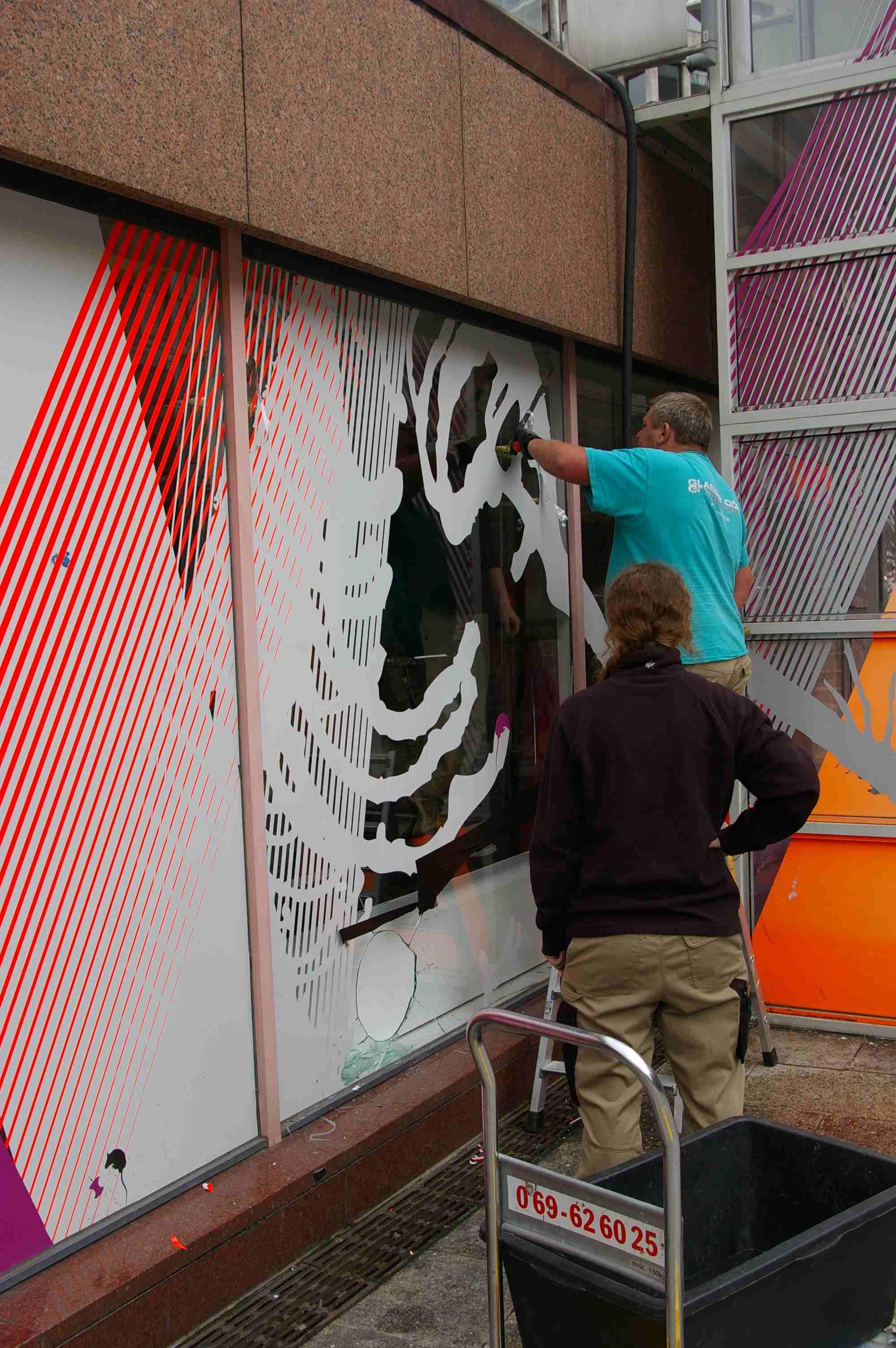 kinder museum frankfurt: Neue Scheibe - Glasfassade