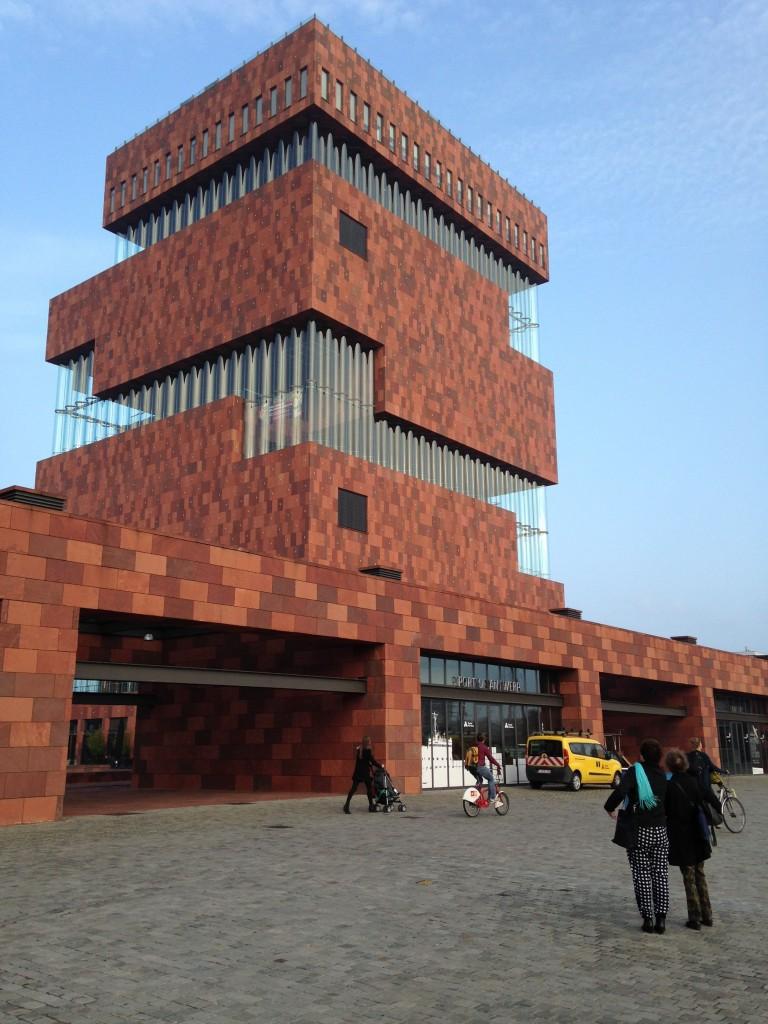 historisches museum frankfurt: das MAS in Antwerpen