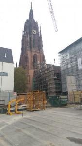 historisches museum frankfurt: Der Krönungsweg begann am Dom