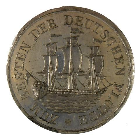 historisches museum frankfurt: Medaille von 1848