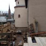 historisches museum frankfurt: das neue Ausstellungshaus im Febr. 2015
