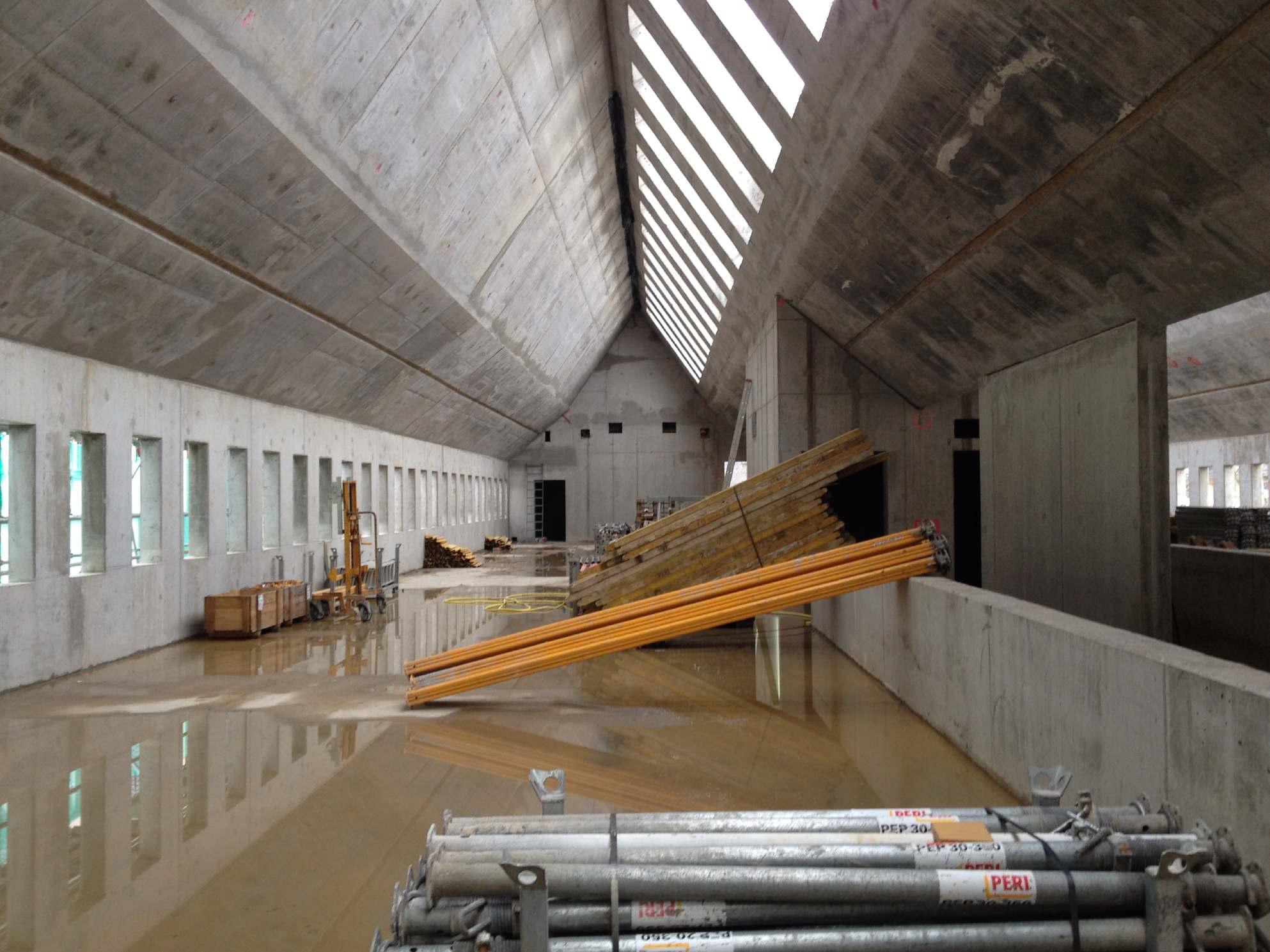 historisches museum frankfurt: das neue Ausstellungshaus im Febr. 2015 - Frankfurt Jetzt!