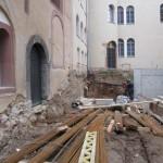 historisches-museum-frankfurt_ Ausgrabung-Stauferhof