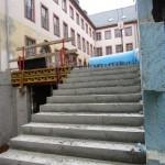 historisches-museum-frankfurt_ Treppe zm Hof